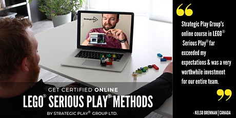 "Online Advanced Certification ""Playing with Strategy"" with LEGO® SERIOUS PLAY® methods SW tickets"