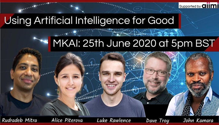 MKAI Expert Forum | Using Artificial Intelligence  image