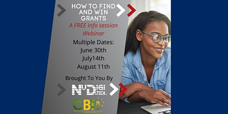 How to Find & Win Grants - FREE LIVE Info Session tickets