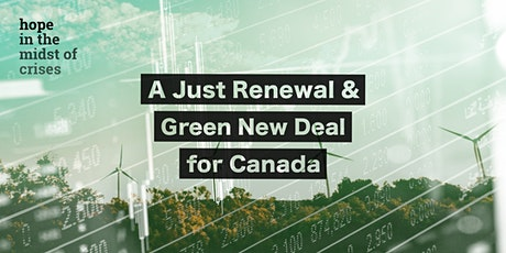 A Just Renewal and Green New Deal for Canada tickets