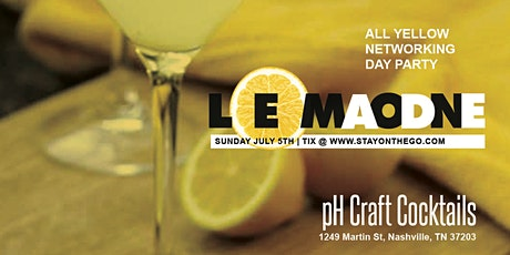 Lemonade All Yellow Networking Day Party tickets