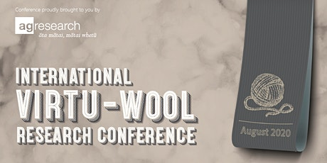 International 'Virtu-Wool' Research Conference 26th and 27th August 2020 tickets