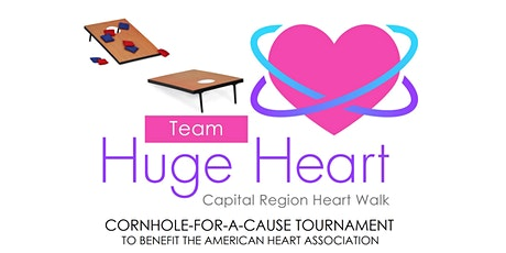 3rd Annual Team Huge Heart Cornhole for a Cause Tournament - CANCELED tickets