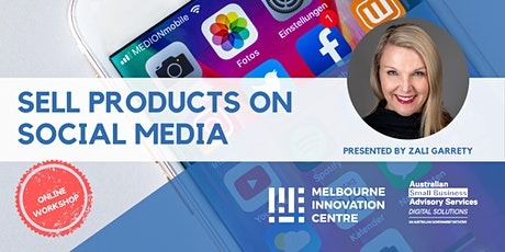 Sell Products on Social Media tickets
