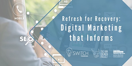 BRP: Refresh for Recovery: Digital Marketing that Informs tickets