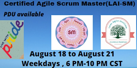 Virtual Live - LAI Certified - Scrum Master (LAI-SM) tickets