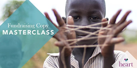 Fundraising Copy Masterclass  Series- write copy that compels donors to act tickets