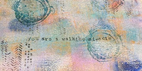 Meditative Affirmation Art™ Mixed Media Painting tickets