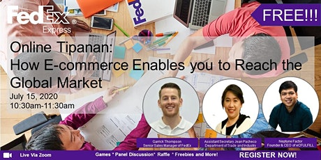 Online Tipanan: How E-commerce Enables you to Reach the Global Market entradas