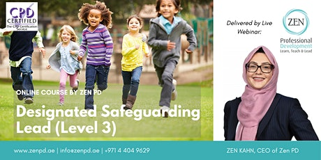 Designated Safeguarding Lead (Level 3) - Online Training tickets