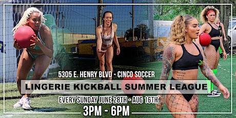 Lingerie Kickball Summer League tickets