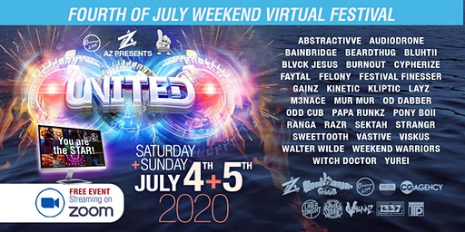 United: Fourth of July Free Zoom Festival