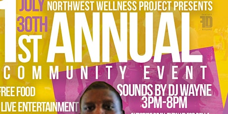 Northwest Wellness Project 1st Annual Community Event tickets