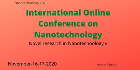 International Online conference on Nanotechnology tickets
