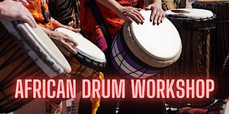 African Drum Workshop with Soul Drummer tickets