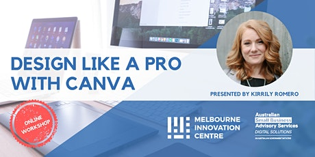 Design Like a Pro With Canva tickets