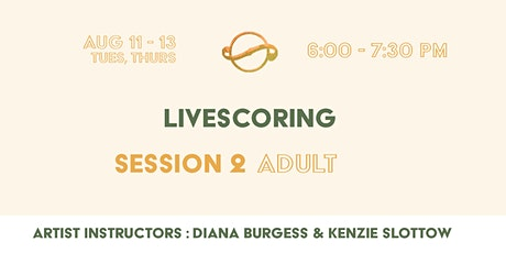 [Session 2 Adult] Livescoring tickets