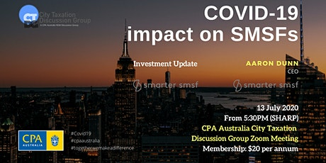 CTDG July 2020 - COVID-19 impact on SMSFs tickets