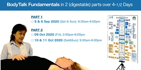 BodyTalk Fundamentals Course (4.5 Days) tickets