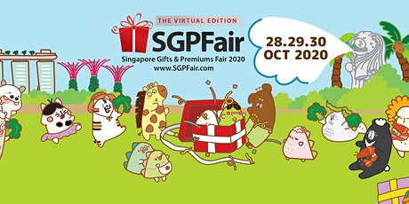 Singapore Gifts & Premiums Fair (SGPFair) 2020: The Virtual Edition tickets