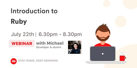 [WEBINAR] Introduction to Ruby tickets
