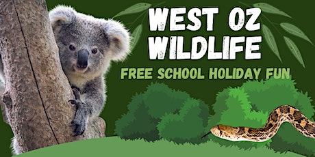 Centrepoint Midland - West Oz Wildlife // Free School Holiday Fun tickets