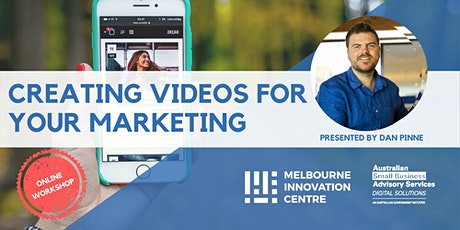 Creating Videos for Your Marketing tickets