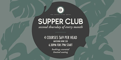 Supper Club 6 tickets