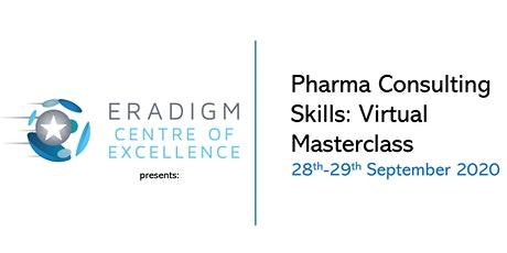 The Eradigm -Virtual Pharma Consulting Skills Masterclass- September 2020 entradas