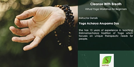 Cleanse with Breath - Virtual Yoga Workshop tickets