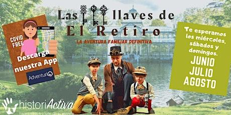 Gymkhana familiar en El Retiro - ENTRADA DE GRUPO (5 PERSONAS) entradas