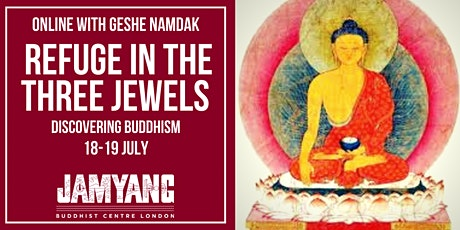 Online  Course: Refuge in the Three Jewel -  Discovering Buddhism tickets