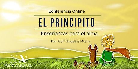 Conferencia Online: El Principito. Enseñanzas para el Alma entradas