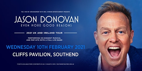 Jason Donovan 'Even More Good Reasons' Tour (Cliffs Pavilion, Southend) tickets