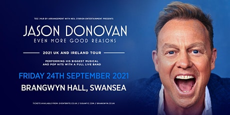 Jason Donovan 'Even More Good Reasons' Tour (Brangwyn Hall, Swansea) tickets