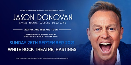 Jason Donovan 'Even More Good Reasons' Tour (White Rock, Hastings) tickets