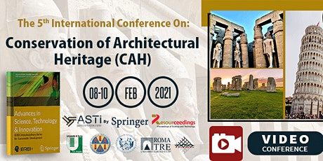 Conservation of Architectural Heritage (CAH) - 5th Edition tickets