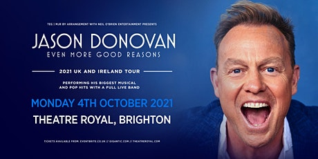 Jason Donovan 'Even More Good Reasons' Tour (Theatre Royal, Brighton) tickets