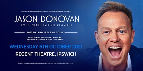 Jason Donovan 'Even More Good Reasons' Tour (Regent Theatre, Ipswich) tickets