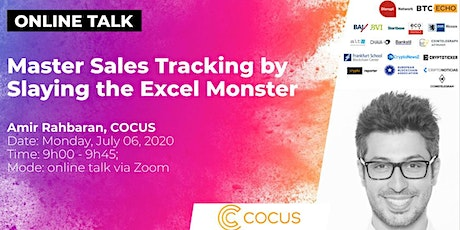 Master Sales by Slaying the Excel Monster (Online Talk) Tickets