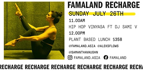 HIP HOP YOGA led by ALEKS FT DJ SAMI V + BRUNCH at FAMALAND tickets
