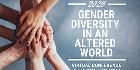 Gender Diversity in an Altered World tickets