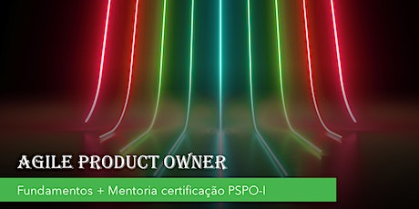 Agile Product Owner(online) - Agosto/2020 - SP ingressos