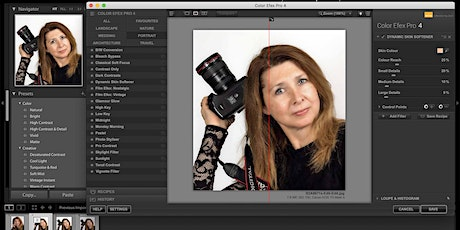 Adobe Lightroom and Photoshop Workshop  - Stitching/Stacking/Filters tickets