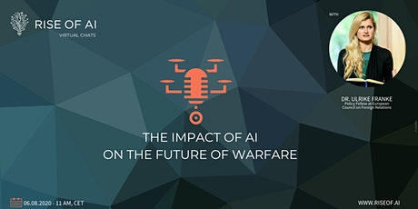 Rise of AI Virtual Chat | The impact of AI on the future of warfare tickets