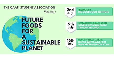 FUTURE FOODS FOR A SUSTAINABLE PLANET tickets