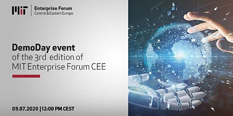DemoDay event of the 3rd edition of MIT Enterprise Forum CEE bilhetes
