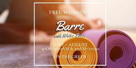 Barre Class on The Green tickets
