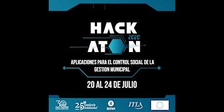 Hackathon 2020: Aplicaciones para el control social de la gestion municipal entradas