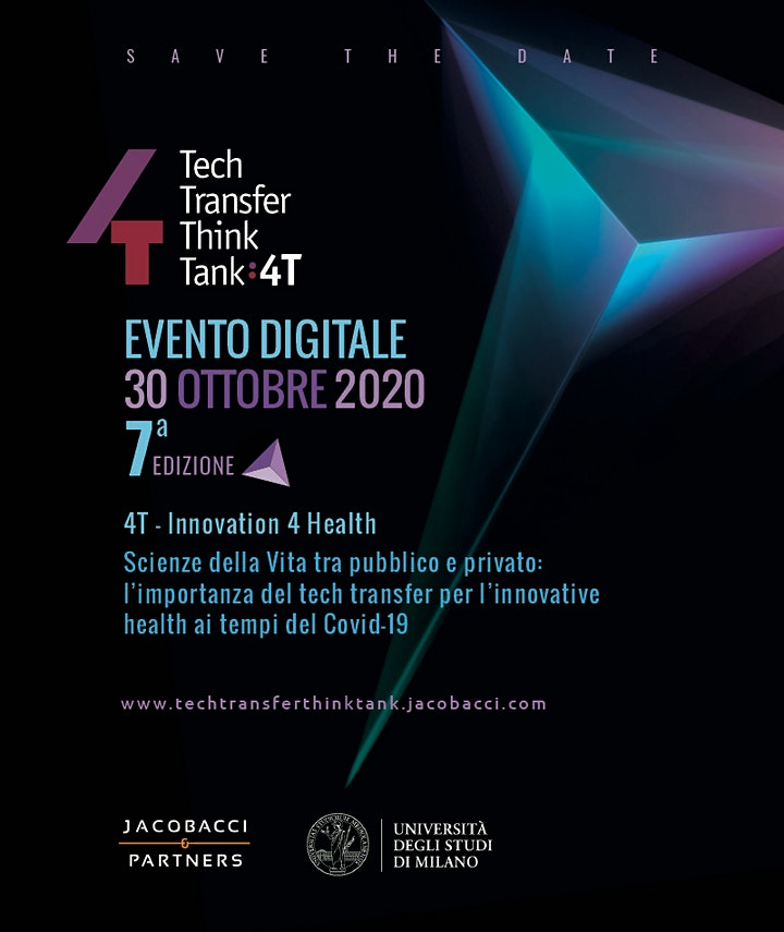 Immagine 4T - Tech Transfer Think Tank 2020